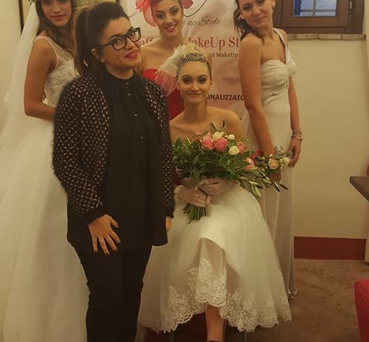 Raffaella Tabanelli  make up artist -  wedding day 28