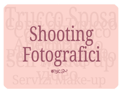 Shooting Fotografici