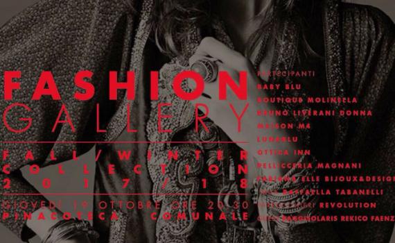 Fashion Gallery – Faenza 19/10/17